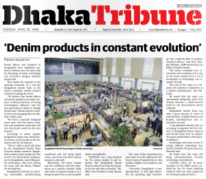 Dhaka Tribune 26 april 2016